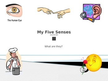 Power Point for Teaching My Five Senses