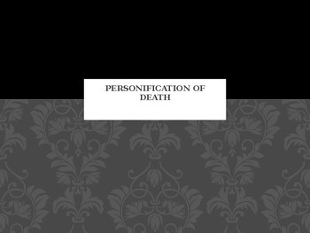 Power Point for The Book Thief (Death Personified)