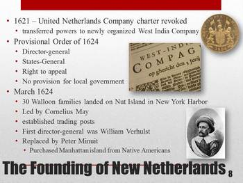 Power Point of The French and Dutch Colonies