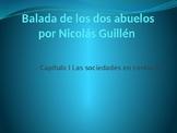Power Point on Balada de los dos abuelos for AP Spanish Li