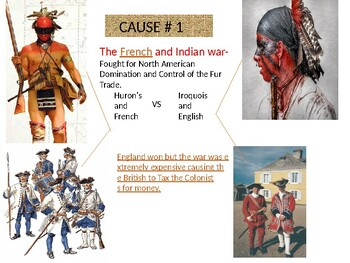 Power Point on Causes of the American Revolution