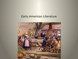 Power Point on Early American Literature, Puritan Theology