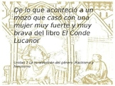 Power Point on El Conde Lucanor for AP Spanish Literature