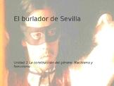 Power Point on El burlador de Sevilla for AP Spanish Literature