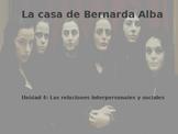 Power Point on La casa de Bernarda Alba for AP Spanish Literature