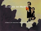 Power Point on La siesta del martes for AP Spanish Literature