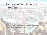 Power Point on Se ha perdido el pueblo mexicatl for AP Spa