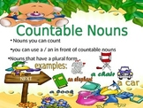 Power Point on countable nouns