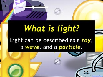 Light Behavior and Atomic Structure: Set of 3 Power Points!