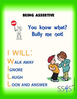 Power Poster; Being Assertive