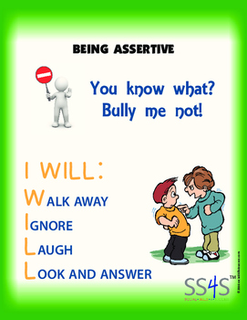 Power Poster; Being Assertive