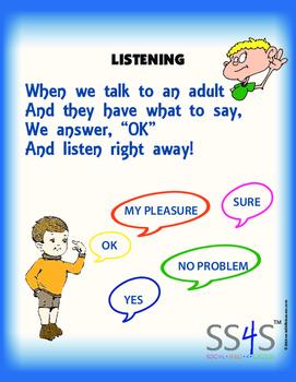Power Poster; Listening