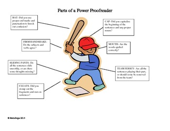 Power Proofreader- Editing Man