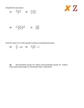 Power Properties Practice Part 2
