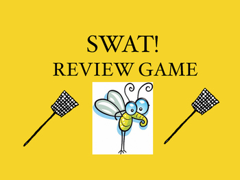 Power Properties SWAT! Review Game