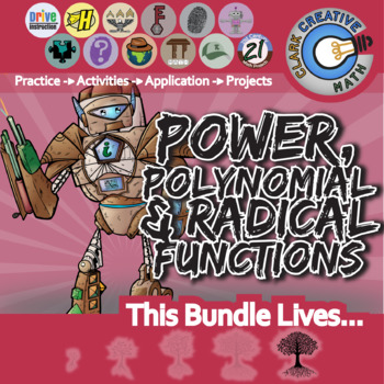 Polynomial, Power & Radical Functions -- Unit Bundle