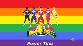 Power Rangers ESL Game - Can you come to my party?