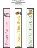 Power Reader Book Mark