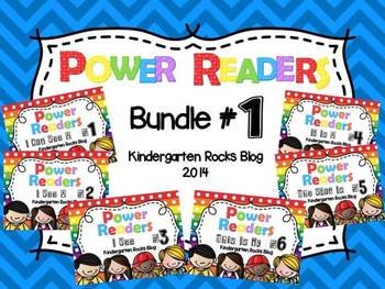 """Power Readers"" Bundle 1"