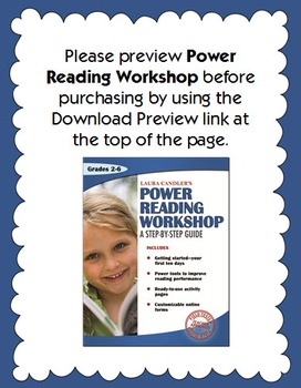Reading Workshop: Step-by-Step Guide with Lessons and Printables