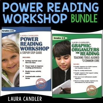 Reading Workshop and Graphic Organizers for Reading Bundle