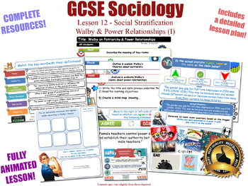 Power Relationships (I) - Social Stratification (GCSE Sociology - L12/20)