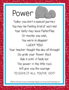 Power Rock Poem