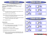 Power Roller: Power, Base and Exponent Game