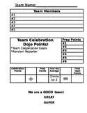 Power Teaching Group Score Sheet