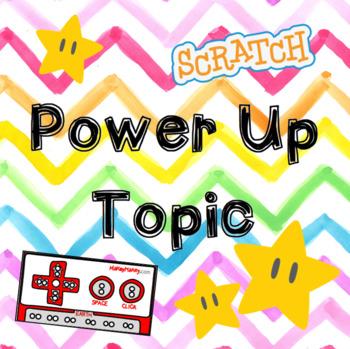 Power Up Topic Plan (6 Week Unit)