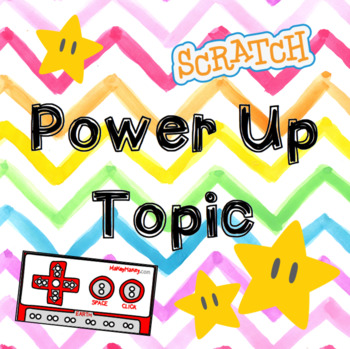 Power Up Topic Plan with Computer Science, Chronology, and Writing Tasks