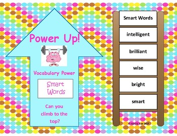 Power Up!  Vocabulary Words with Writing - Smart Words - Week 15/Week 16
