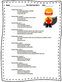 Middle School Power Vocabulary Units 1-3 Bundle (tier 2 academic vocabulary)