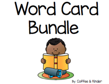 Power Word Big Cards Growing Bundle (IRLA)