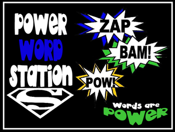 Power Word Station - Common Core Grades 6-12
