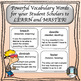 Power Words! Vocabulary Building Flashcards: The Introductory Set!
