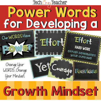 Growth Mindset Power Words