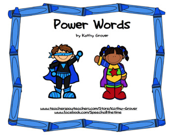 Power Words for Early Intervention