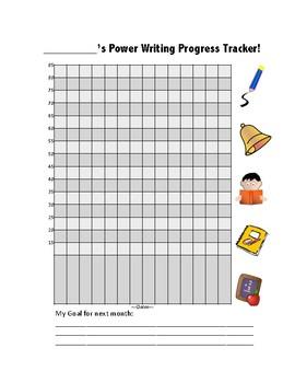 Power Writing Data Tracker