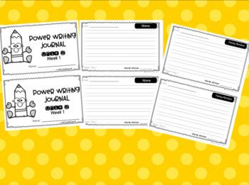 Power Writing First Grade Bundle (HWT)