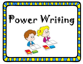 Power Writing Posters
