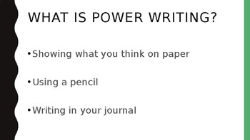 Power Writing Prompts