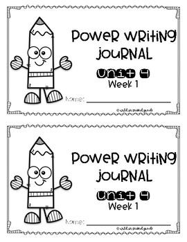 Power Writing Second Grade Journal Unit 4 (HWT)