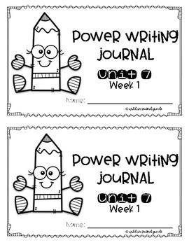 Power Writing Second Grade Journal Unit 7 (HWT)