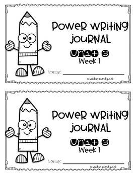 Power Writing Second Grade Journal Unit 3 (HWT)