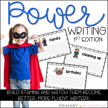Daily Writing Warm Up-Writing Prompts-Power Writing-Everyday Writing-1st Edition