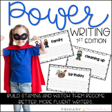 Power Writing for Everyday Writing and Building Stamina 1s