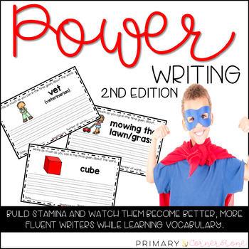 Daily Writing Warm Up-Writing Prompts-Power Writing-Everyday Writing-2nd Edition