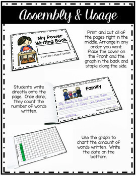 Power Writing for Building Stamina THE BUNDLE