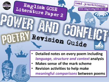 Power and Conflict - AQA Poetry